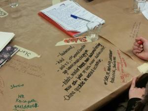 brown paper in 5 woorden